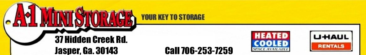 A1 Mini Storage Jasper